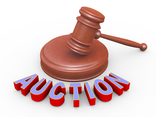 Ruling for Auctioning Confiscated Item
